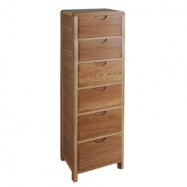 Ercol Bosco 1364 six drawer tall chest