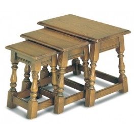 1494 Wood Bros Old Charm Nest of Tables