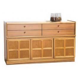 1504 Nathan Classic Buffet / Sideboard in Teak (1505 in Light Oak or 1506 in Medium Oak)
