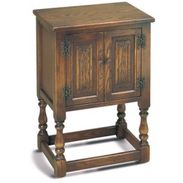 1582 Wood Bros Old Charm Pedestal Cabinet
