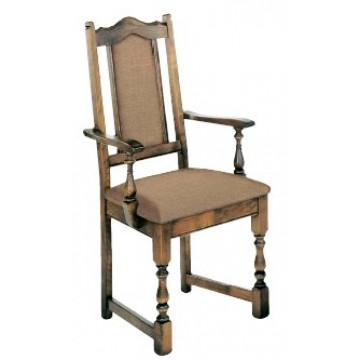 2068 Wood Bros Old Charm Lancaster Carver Chair