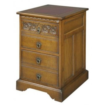 2075 Wood Bros Old Charm Filing Cabinet