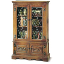 2083 Wood Bros Old Charm Bookcase with Secret Compartment