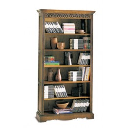 2117 Wood Bros Old Charm Tall Bookcase