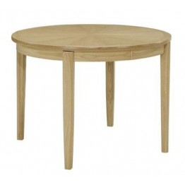 Nathan Oak 2135 Circular Dining Table on Legs