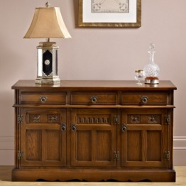 2145 Wood Bros Old Charm Lancaster Sideboard