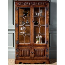 2155 Wood Bros Old Charm Display Cabinet