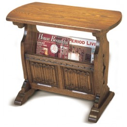 2187 Wood Bros Old Charm Magazine Rack