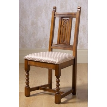 2286 Wood Bros Old Charm Aldeburgh Dining Chair in Fabric