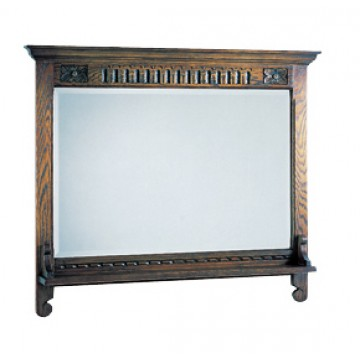 2372 Wood Bros Old Charm Wall Mirror