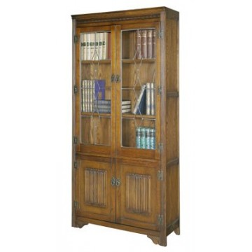 2664 Wood Bros Old Charm Bookcase LL Top
