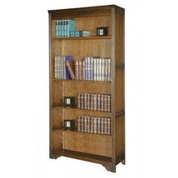 2666 Wood Bros Old Charm Bookcase Open