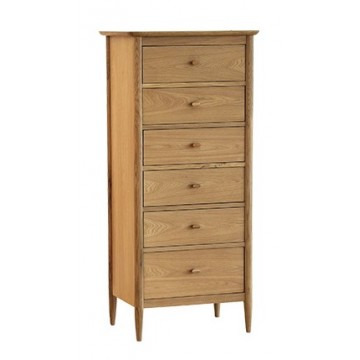 Ercol Teramo 2685 6  Drawer Tall Chest