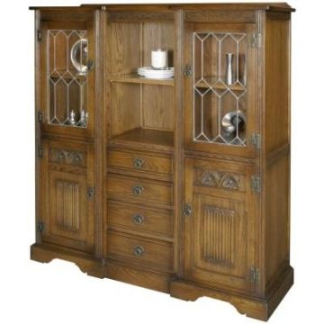 2730 Wood Bros Old Charm Recessed Tall Sideboard