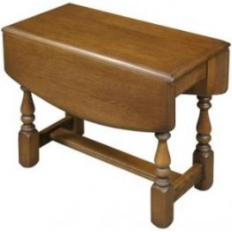 2736 Wood Bros Old Charm Swivel Occasional Table