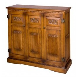 2759 Wood Bros Old Charm DVD Cabinet