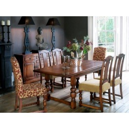 2926 Wood Bros Old Charm Buckingham Extending Dining Table