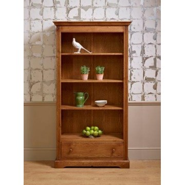 2995 Wood Bros Old Charm Bookcase with Drawer