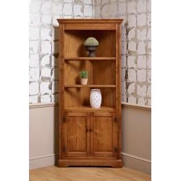 2996 Wood Bros Old Charm Open Corner Cabinet