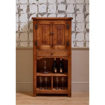 3018 Wood Bros Old Charm Drinks Cabinet