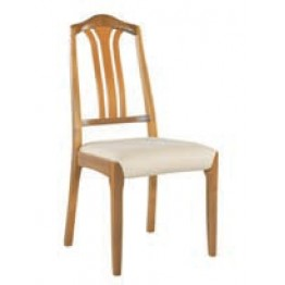 3114 Nathan Slat Back Dining Chair in Teak