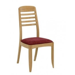 Nathan Oak 3815 Ladder Back Dining Chair