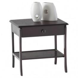 3820 Sutcliffe Hampton Mahogany Lamp Table With Drawer