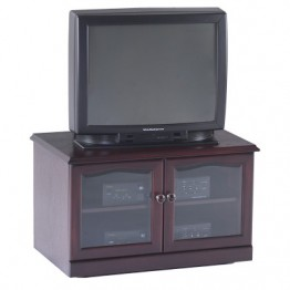 3832 Sutcliffe Hampton Mahogany 2 Door TV / Video Unit