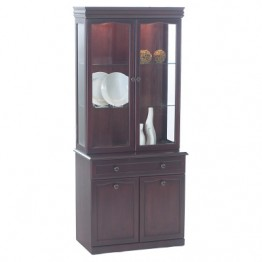 38331B Sutcliffe Hampton Mahogany Base Unit Only