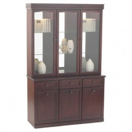 3848 Sutcliffe Hampton Mahogany Display Unit