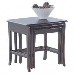 3867 Sutcliffe Hampton Mahogany Nest Of Tables