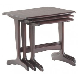 3922 Sutcliffe Hampton Mahogany Nest Of Tables