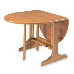 5694 Nathan Classic Mini Gate Leg Table in Teak