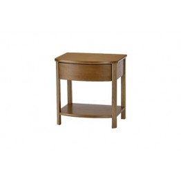 5904 Nathan Shades Shaped Lamp Table