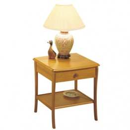 820 Sutcliffe Trafalgar Lamp Table With Drawer