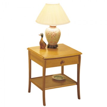 820 Sutcliffe Lamp Table With Drawer STR-820-TK
