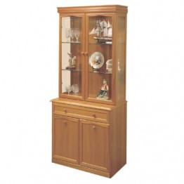833 Sutcliffe Trafalgar Teak Display unit
