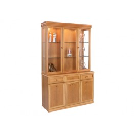 848TM Sutcliffe Display Unit With Mirror Back (850B base with 848TM top with mirrors)