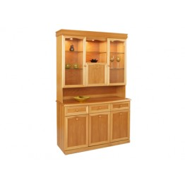 850T Sutcliffe Combination unit with wooden back (850B base with 850T top with no mirrors) STR-850T-TK and STR-850B-TK