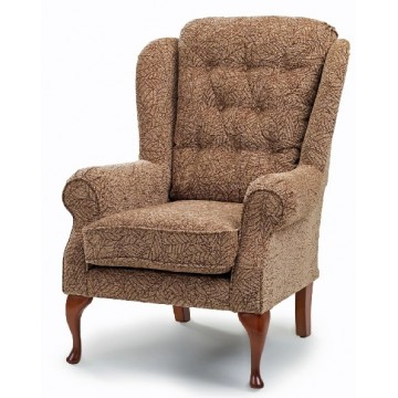 Burford Queen Anne Chair - High Seat - Medium - Relax Seating