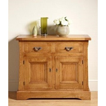 Old Charm Chatsworth CT2975 Two Drawer Small Sideboard