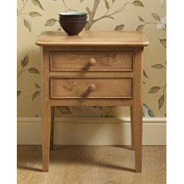 Old Charm Ludlow LD2937 - 2 Drawer Lamp Table - END OF LINE CLEARANCE PRICES - EVERYTHING MUST GO !