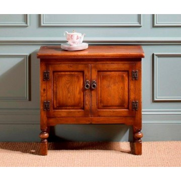 2829 Wood Bros Old Charm Buckingham Pedestal Cabinet