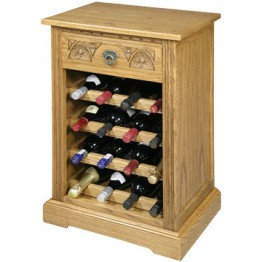 2769 Wood Bros Old Charm Wine Rack