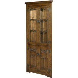 2796 Wood Bros Old Charm Corner Cabinet