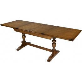 2801 Wood Bros Old Charm 6ft Lambourn Extending Dining Table