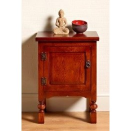2981 Wood Bros Old Charm Single Door Pedestal Chest