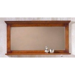 2844 Wood Bros Old Charm Buckingham Large Mirror