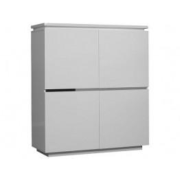 Sciae Furniture Electra 4 Door Unit - 36 White - No 3 Storage ElÈment  4 Doors with lights