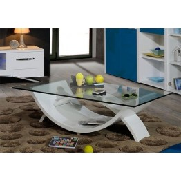 Sciae Furniture Smooth Coffee Table - 36 White - No 12 Coffee Table